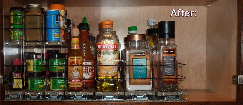 spice rack kitchen organization